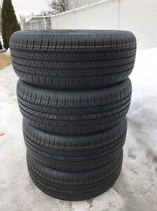 4 pneus été hankook kinergy gt 205 55 r 16 flambant neuf