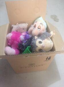 Small box of soft toys Hammond Park Cockburn Area Preview