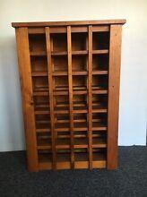 Beautiful solid wood wine rack Randwick Eastern Suburbs Preview