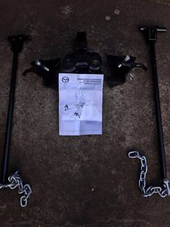 Load distribution hitch. Genuine Mazda part for BT 50.