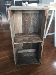 rustic wooden indoor/outdoor cabinet Botany Botany Bay Area Preview