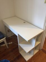 Desk and chair Lilyfield Leichhardt Area Preview
