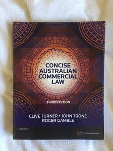 Concise Australian Commercial Law 3rd Edition Ipswich Ipswich City Preview