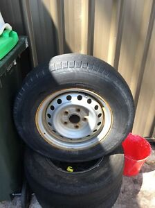 "Toyota Hilux 14"" rims and tyres Cessnock Cessnock Area Preview"