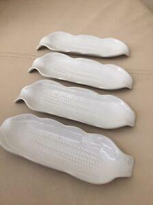 Corn Plates - white Turrella Rockdale Area Preview