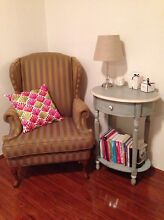 Beautiful olive gold arm chair Belmore Canterbury Area Preview