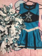 FAD cheer dresses and poms Pimpama Gold Coast North Preview