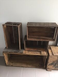 Old wooden crates Miami Gold Coast South Preview
