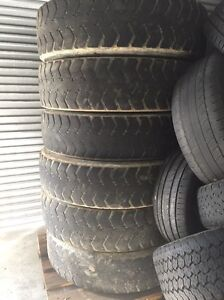 Free semi trailer and truck tyres Ashmore Gold Coast City Preview