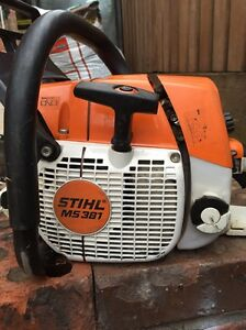 STIHL MS 381 CHAINSAW Maribyrnong Maribyrnong Area Preview