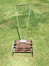 Vintage push mower - GREENS monitor Ironbank Adelaide Hills Preview