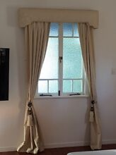 Beige curtains with pelment Idalia Townsville City Preview