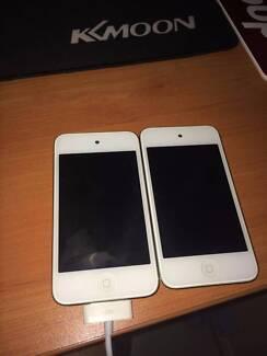 iPod 4 32gb and 8gb