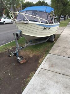 Fishing boat Stessl craft 4.6m Mount Lewis Bankstown Area Preview