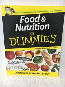 Food & Nutrition for Dummies book Castlemaine Mount Alexander Area Preview