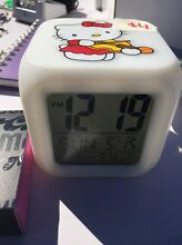 Hello Kitty digital clock date temp and alarm Parkinson Brisbane South West Preview