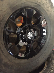 "17"" holden Colorado black wheels 33""mud tyres 6 139.7 Waterford Logan Area Preview"