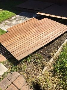 Hardwood decking pieces Oxley Park Penrith Area Preview