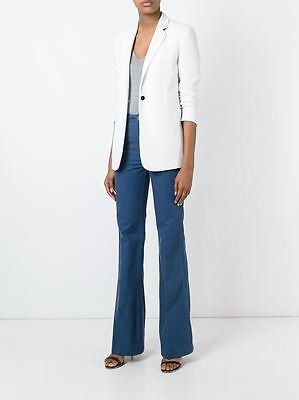 TORY BURCH Harbor Flared Cotton Trousers Pants Size 28 NWT $195