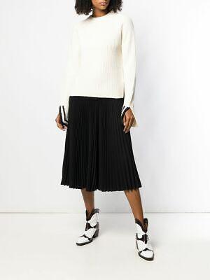 Helmut Lang 2019 Ribbed Varsity Sweater, $520 NEW, Medium