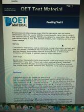 OET study material (nursing) Deniliquin Murray Area Preview