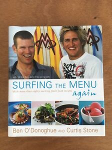 Surfing The Menu Again. Ben O'Donoghue & Curtis Stone. Recipe Bk Mosman Park Cottesloe Area Preview