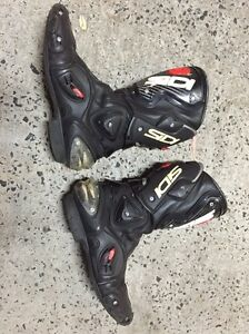 Sidi race boots - $100  size 43 - scuffs and marks Pyrmont Inner Sydney Preview