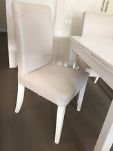 Linen chairs & extendable dining table Darling Point Eastern Suburbs Preview