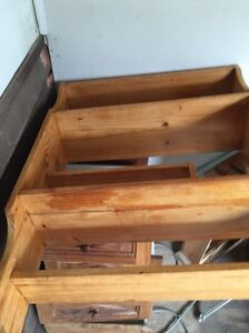 Kitchen cupboards, draws and wall rack Greenmount Mundaring Area Preview