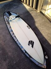 Surfboard 6'0ft ECS FF2 5 fcs plug ,round pin tail Cameron Park Lake Macquarie Area Preview