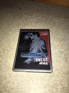 Underbelly uncut limited edition metal tin cover DVDs Largs Bay Port Adelaide Area Preview