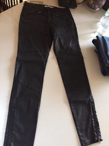 Country road leather look jeans - size 6 but will fit 8 Fadden Tuggeranong Preview