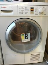 Bosch Maxx 8 sensitive condenser clothes dyer made in Germany rrp$1899 Epping Ryde Area Preview