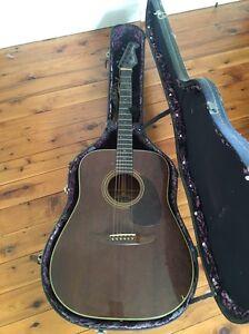 Fender newporter acoustic guitar Geebung Brisbane North East Preview