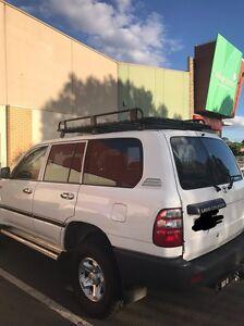 Alloy roof rack suit 100 series Landcruiser. 3/4 size 1800x1250 Bendigo Bendigo City Preview