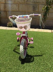 Girls Lalaloopsy Bike with Training Wheels Hocking Wanneroo Area Preview