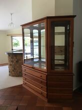 Display cabinet Parker / Chiswell / Teak style. Bahrs Scrub Logan Area Preview