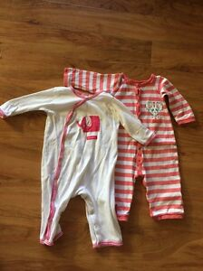 Baby girl 6-12 months romper suits Rockingham Rockingham Area Preview