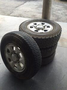 Toyota hilux wheels / tyres 6x139.7 Appin Wollondilly Area Preview