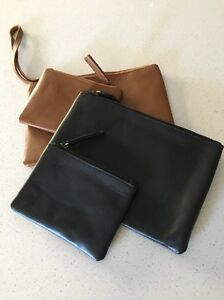 Leather clutch bag and coin purse Caversham Swan Area Preview