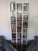 New white cd/dvd bookcases x3 Padstow Bankstown Area Preview