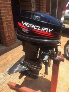 Mercury 25hp outboard Hornsby Hornsby Area Preview