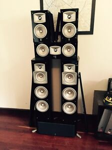 Yamaha Home Theatre Surround Sound / Music Speakers Immaculate East Fremantle Fremantle Area Preview