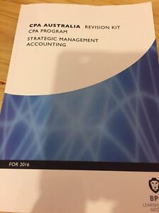 CPA SMA BPP 2016 revision kit, knowledge checks & SP2 text book Burton Salisbury Area Preview
