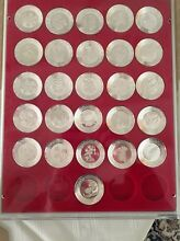 Sterling Silver Miniature Plate Collection Mittagong Bowral Area Preview