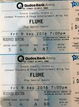 2x FLUME HARDCOPY TICKETS - Fri 9th DEC - Reserved Seating Canterbury Canterbury Area Preview