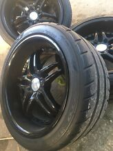 18x10 rims and tyres Fyshwick South Canberra Preview
