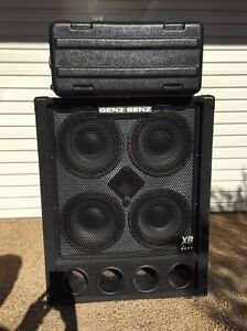 Genz Benz Bass Guitar Rig, tuner and case included Penshurst Hurstville Area Preview