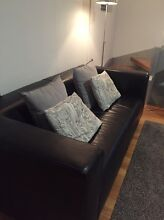 Leather 2.5 seat couch in great condition Alexandria Inner Sydney Preview