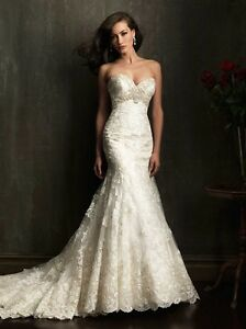 Brand New Allure Bridal 9051